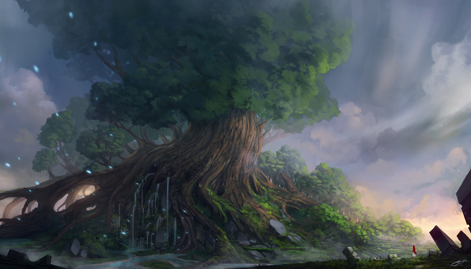 Yggdrasil wallpaper and background image 1500x857 id - Norse mythology 4k wallpaper ...