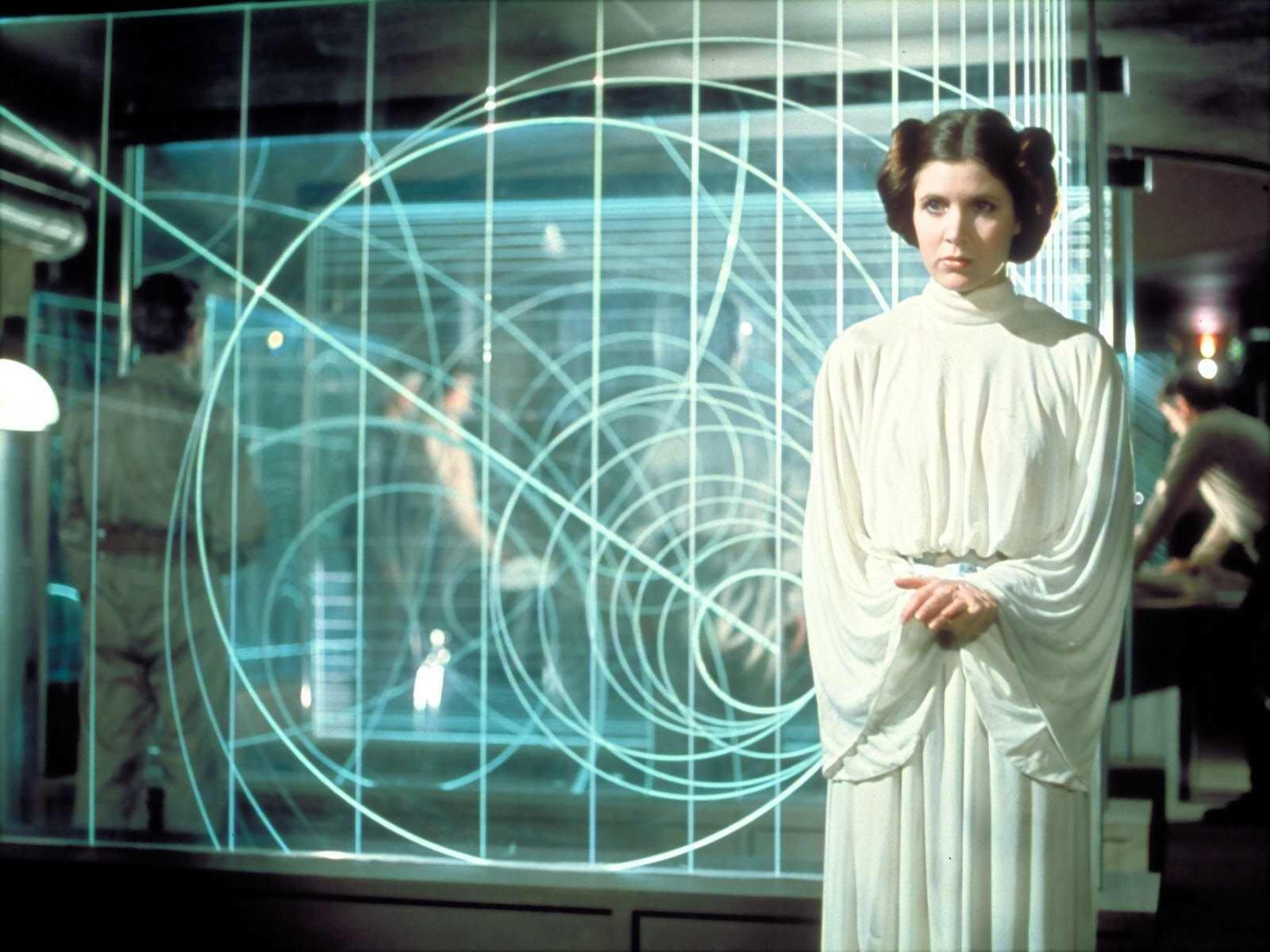 电影 - 星球大战  Princess Leia Carrie Fisher 壁纸