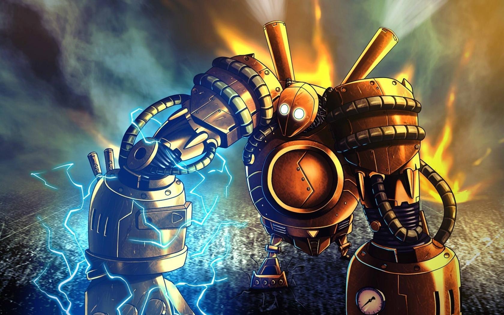 Blitzcrank League Of Legends Hd Wallpaper: League Of Legends Wallpaper And Hintergrund