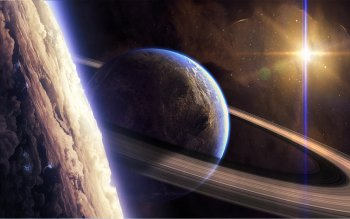 Sci Fi - Planetary Ring Wallpapers and Backgrounds ID : 382449