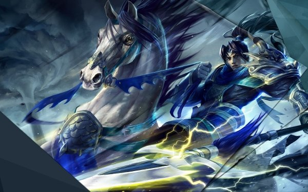 Video Game League Of Legends Xin Zhao HD Wallpaper   Background Image