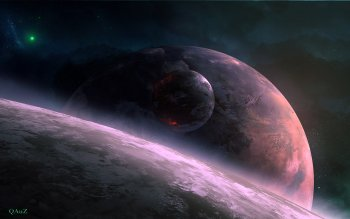 Научная фантастика - Planetscape Wallpapers and Backgrounds ID : 383294