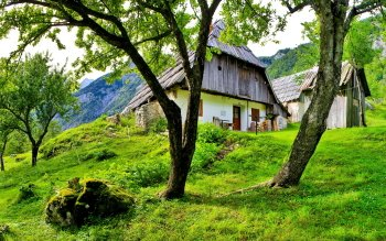Man Made - Cabin Wallpapers and Backgrounds ID : 383816