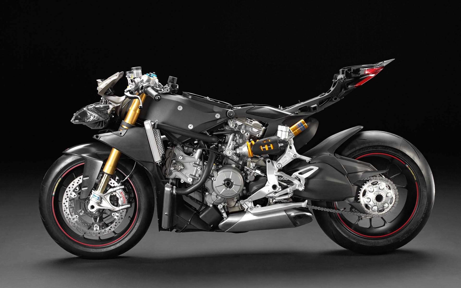 Ducati 1199 Panigale Motorcycle HD Wallpaper