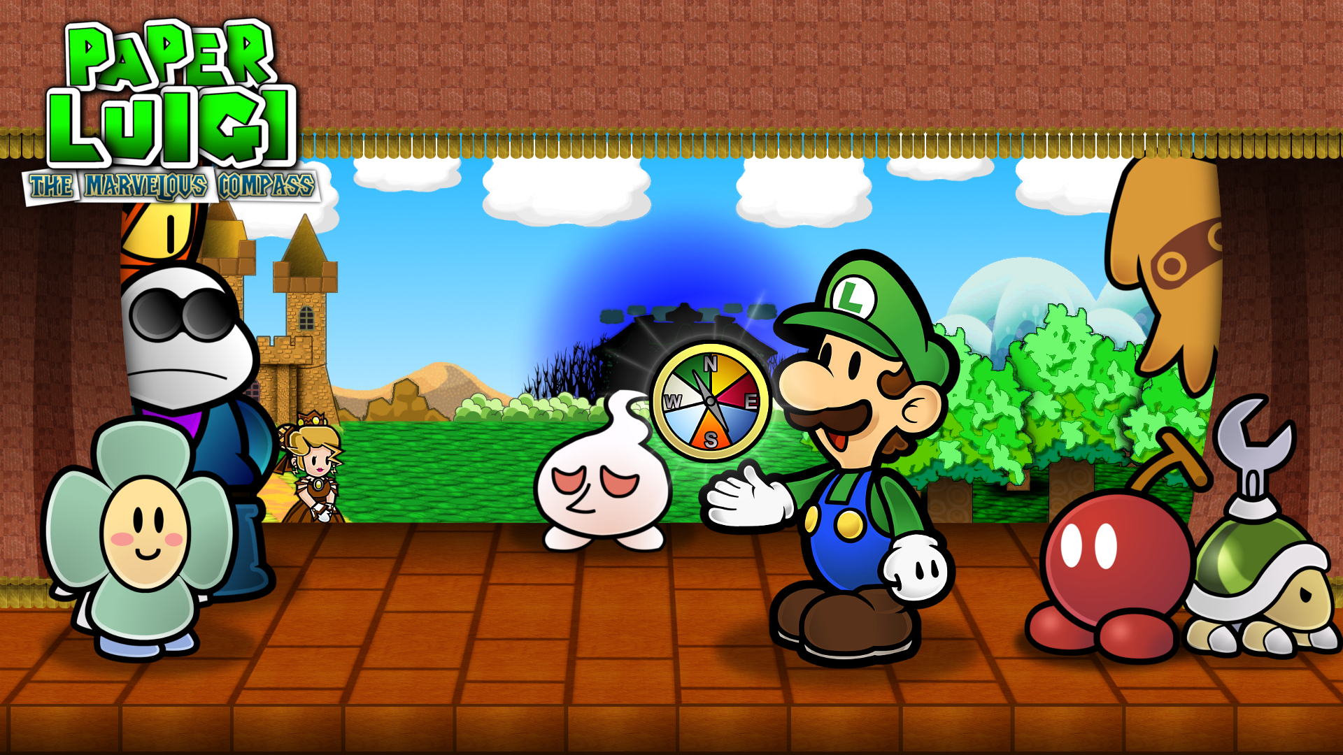 paper luigi Paper mario jumps out of the book and into the bizarre adventures of mario & luigi, resulting in hilarious and dangerous hijinks become the superstar team of mario, mario and luigi paper jam bros to take on quests, take down enemies and untangle these two unique universes in this playful new entry in the mario & luigi series.