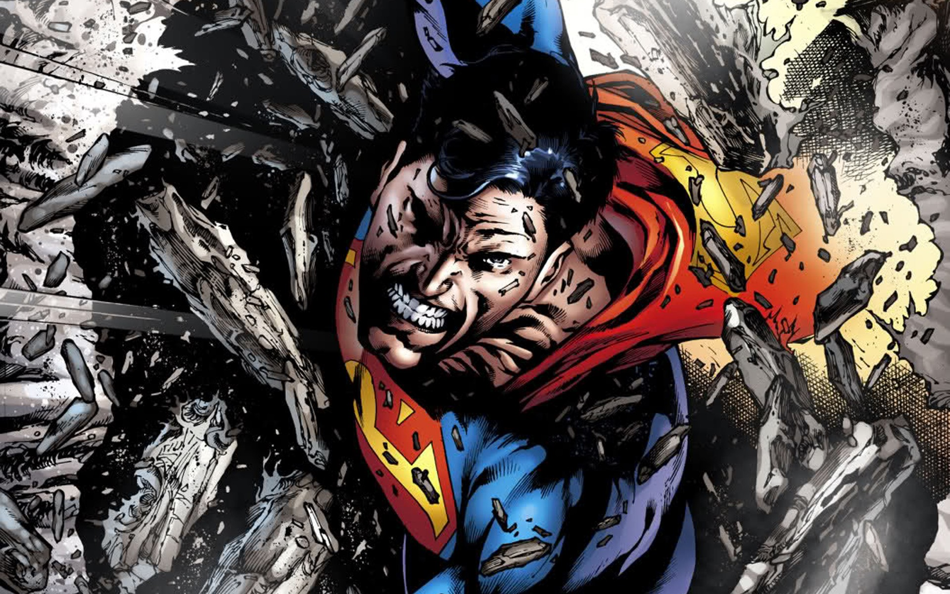 superman comic art wallpaper - photo #31