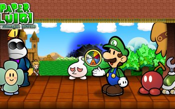 Video Game - Paper Luigi Wallpapers and Backgrounds ID : 386135