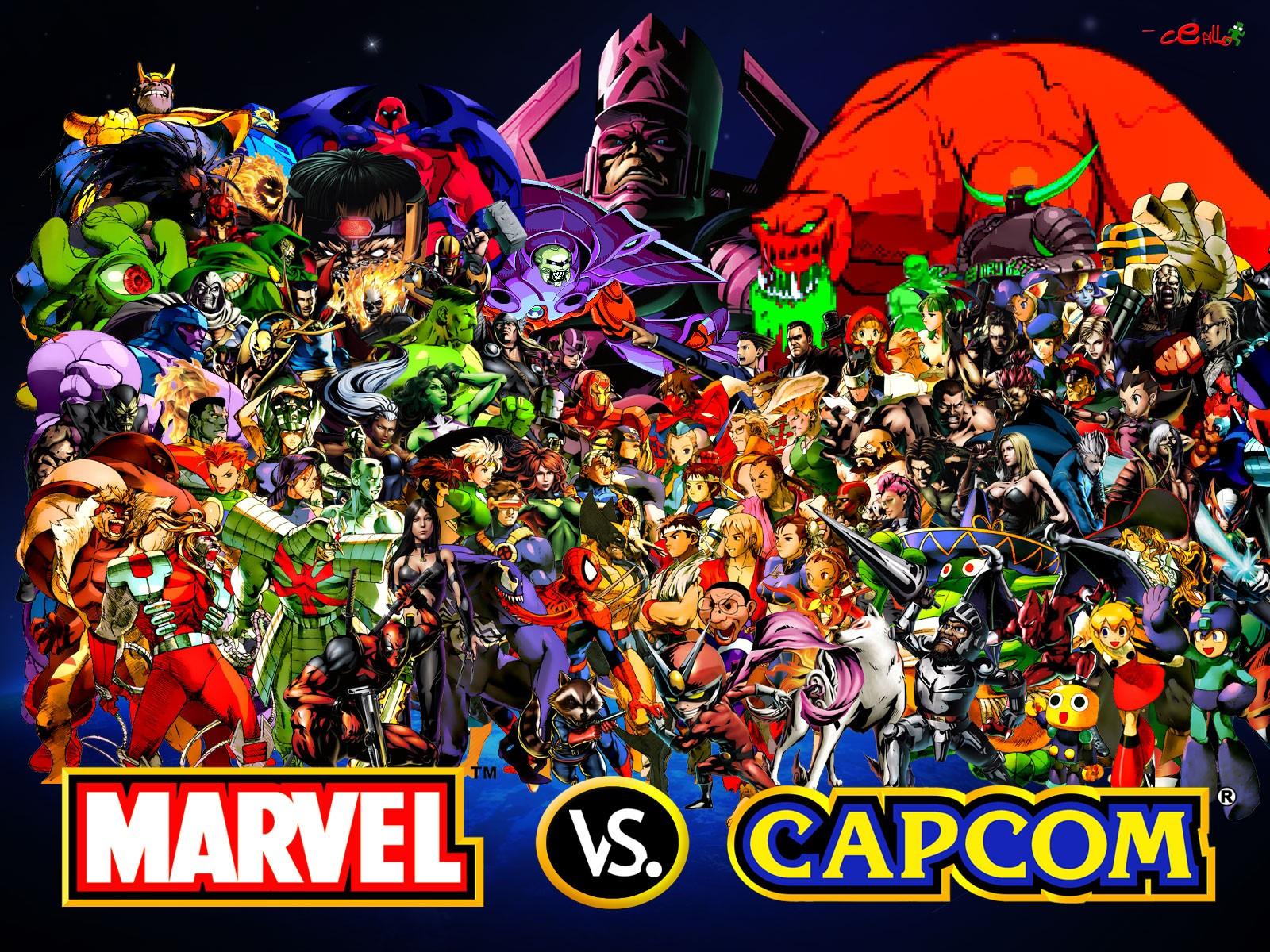 6 marvel vs capcom hd wallpapers