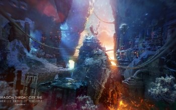 Fantasy - Großstadt Wallpapers and Backgrounds ID : 388239