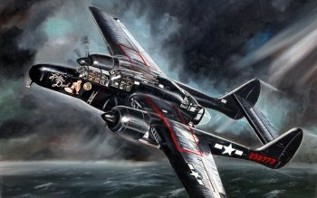 Military - Northrop P-61 Black Widow Wallpapers and Backgrounds ID : 389526