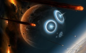 Science-Fiction - Kollision Wallpapers and Backgrounds ID : 389888