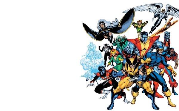 Comics X-Men Cyclops Wolverine Nightcrawler Angel Banshee Polaris Jean Grey Havok Colossus Iceman Storm Thunderbird Warren Worthington III Mutant HD Wallpaper | Background Image