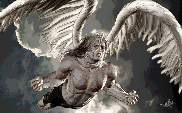 Comics ultimate x-Men X-Men Angel Warren Worthington III Wings HD Wallpaper | Background Image