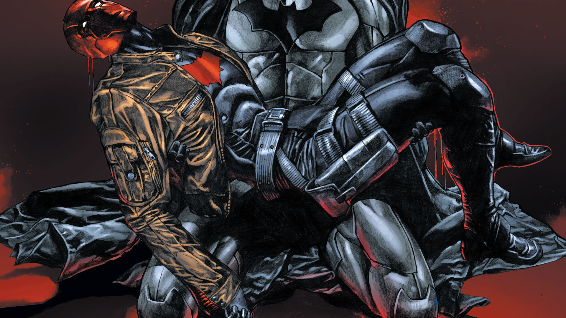 Red Hood Wallpaper 1920x1080: Red Hood And The Outlaws Full HD Wallpaper And Background