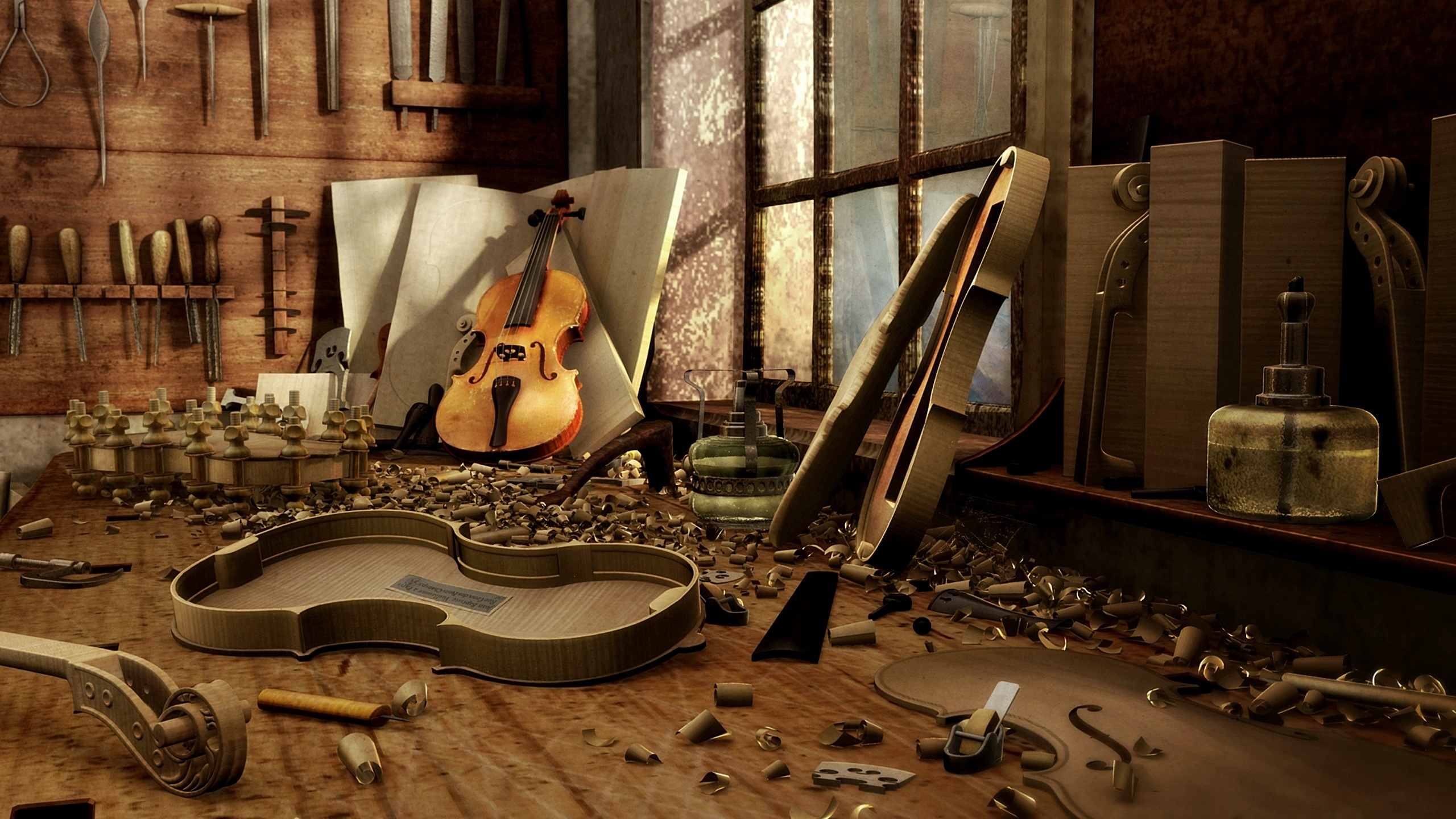 Violine Full Hd Wallpaper And Hintergrund 2560x1440 Id