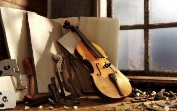 Musik - Violin Wallpapers and Backgrounds ID : 391332
