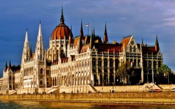 Man Made - Hungarian Parliament Building Wallpapers and Backgrounds ID : 391477