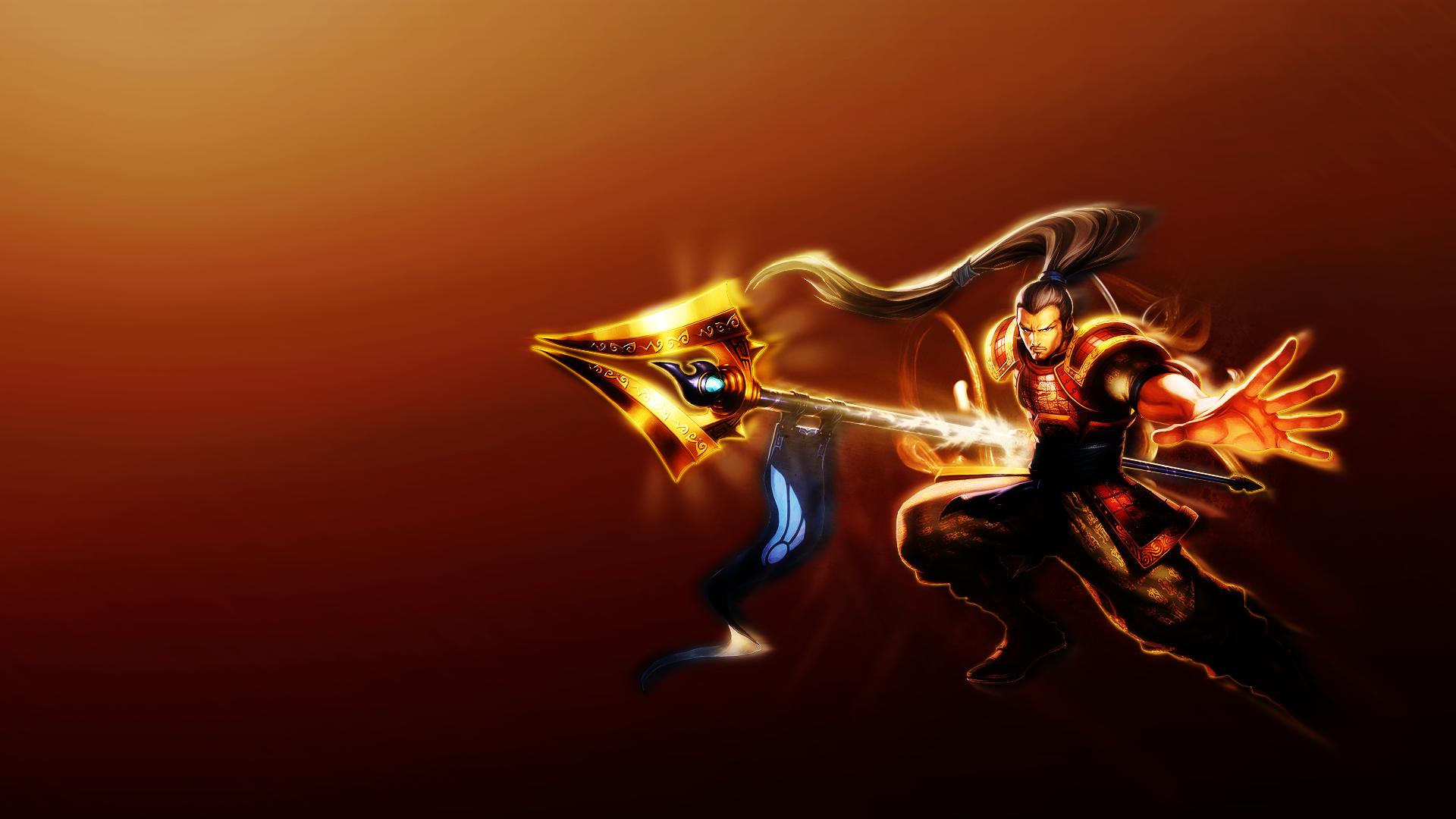 League of legends full hd wallpaper and background image 1920x1080 video game league of legends xin zhao league of legends wallpaper voltagebd Image collections
