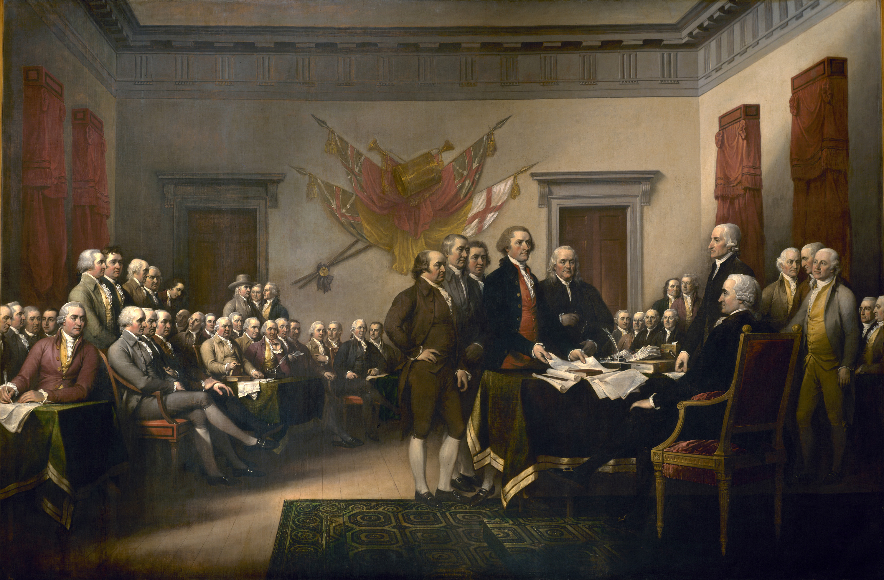 Trumbull's Declaration Of Independence Computer Wallpapers ...