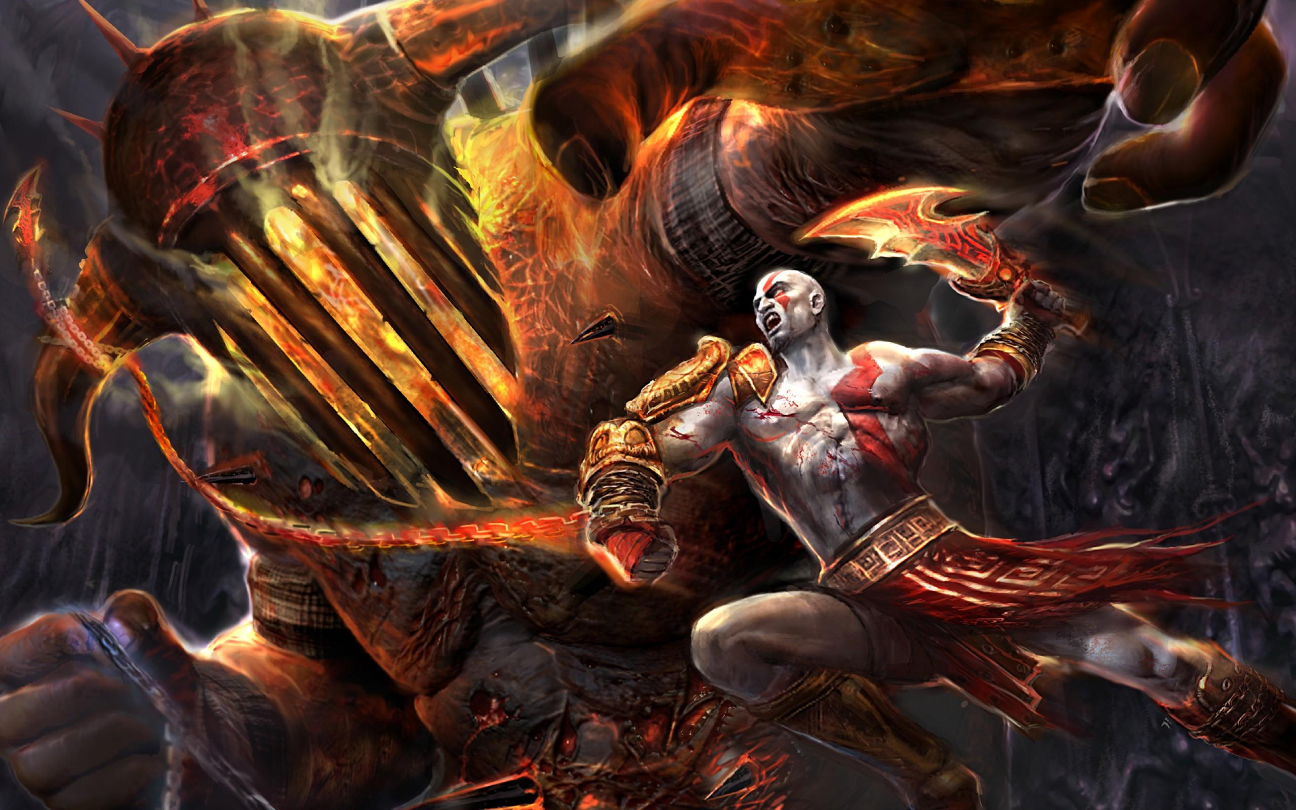 God Of War Iii Fondo De Pantalla Hd Fondo De Escritorio