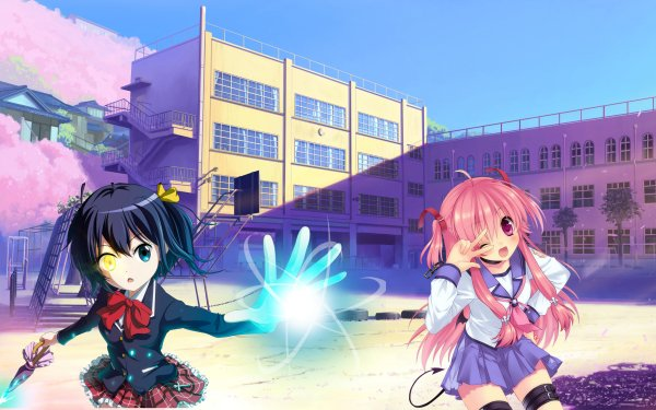 Anime Crossover Angel Beats! Yui HD Wallpaper | Background Image