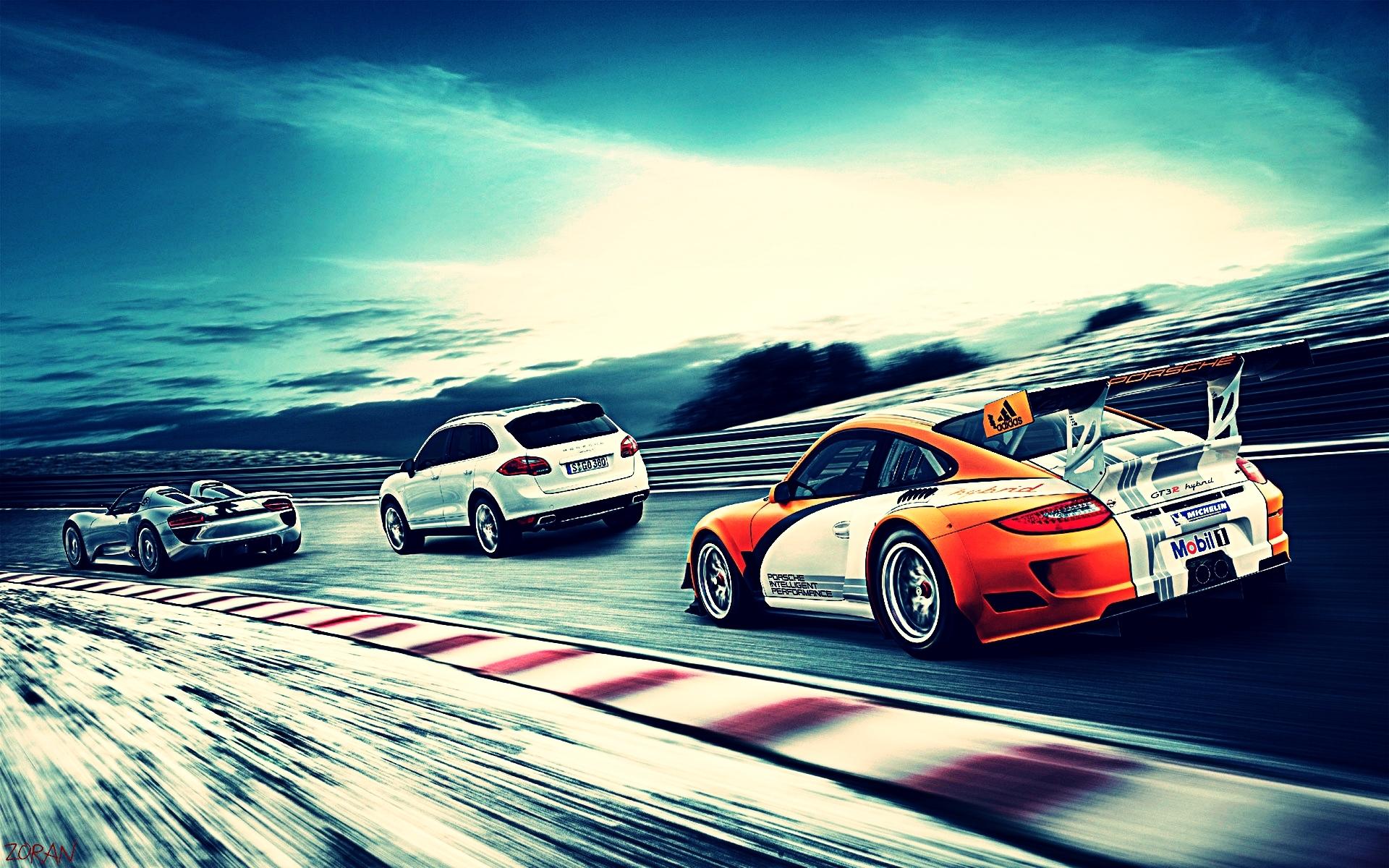 Porsche full hd wallpaper and background 1920x1200 id - Poster mural noir et blanc ...