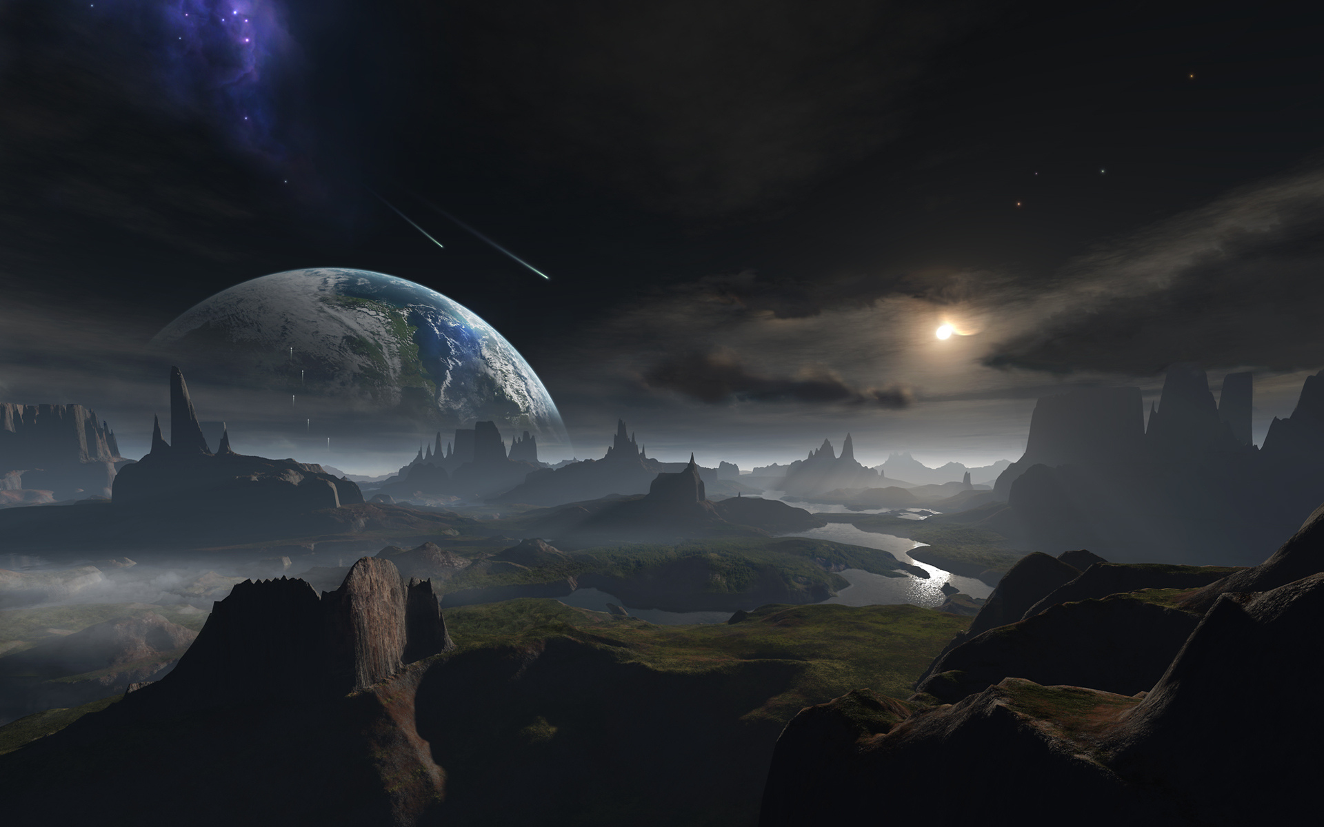 sci fi landscape alien planets - photo #29