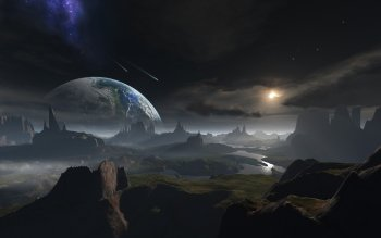Science-Fiction - Landschaft Wallpapers and Backgrounds ID : 394981