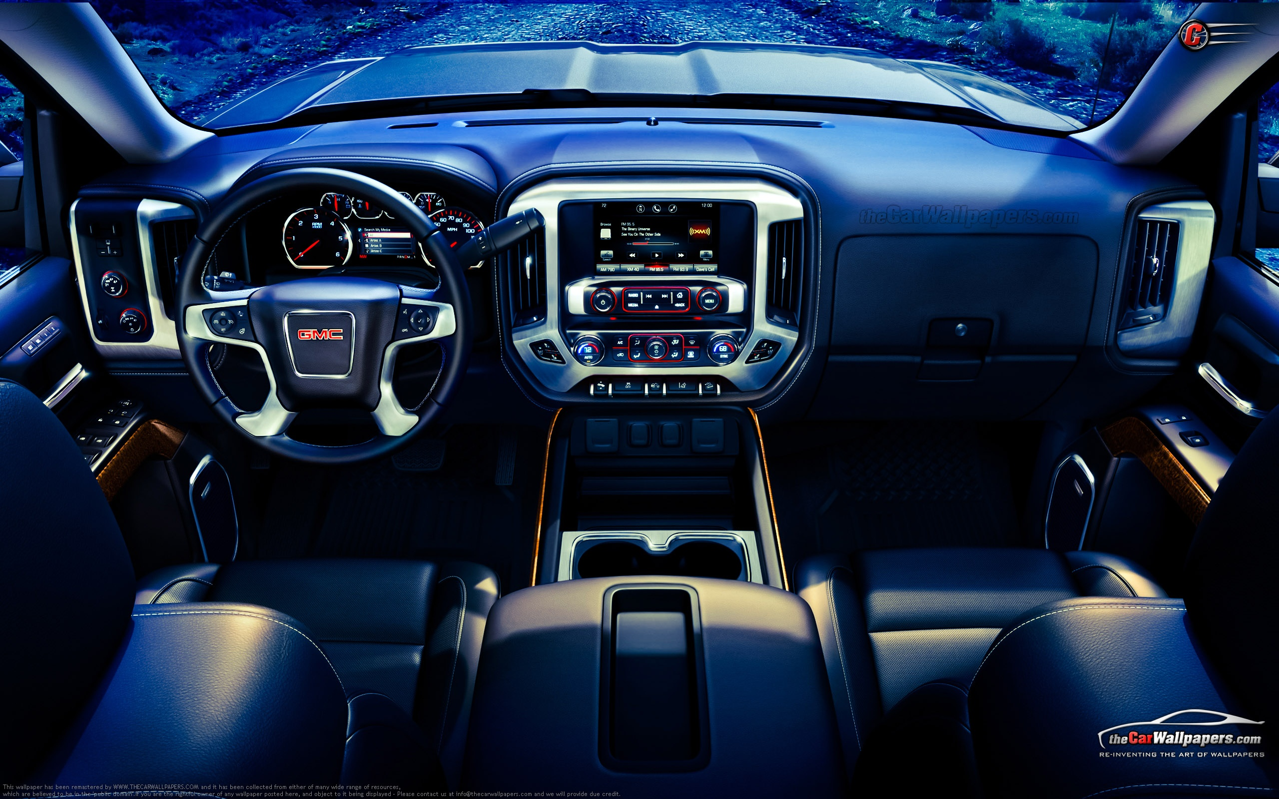 GMC Sierra Full HD Wallpaper And Background Image