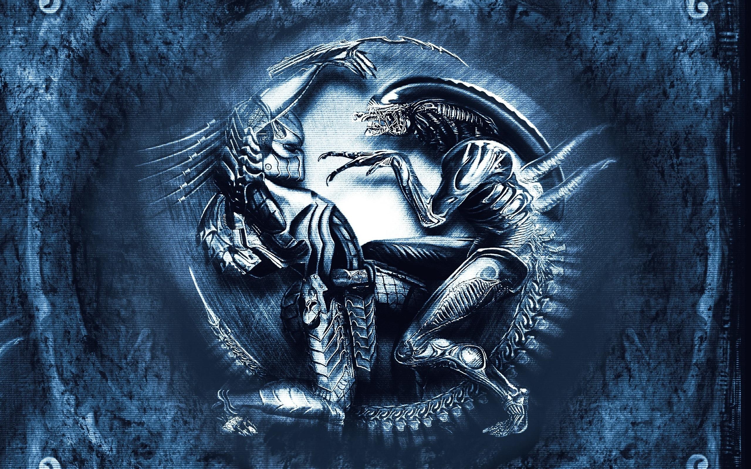 alien vs. predator hd wallpaper | background image | 2560x1600 | id
