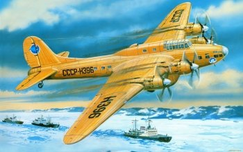 Vehículos - Petlyakov Pe-8 Polar Wallpapers and Backgrounds ID : 395133