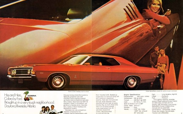 Vehicles Ford Torino Cobra Ford HD Wallpaper   Background Image