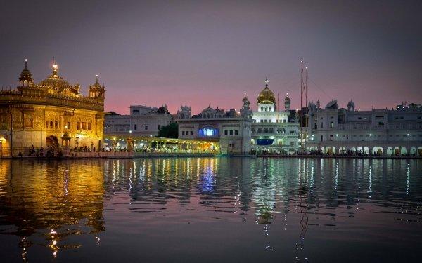 Religious Harmandir Sahib Temples HD Wallpaper | Background Image