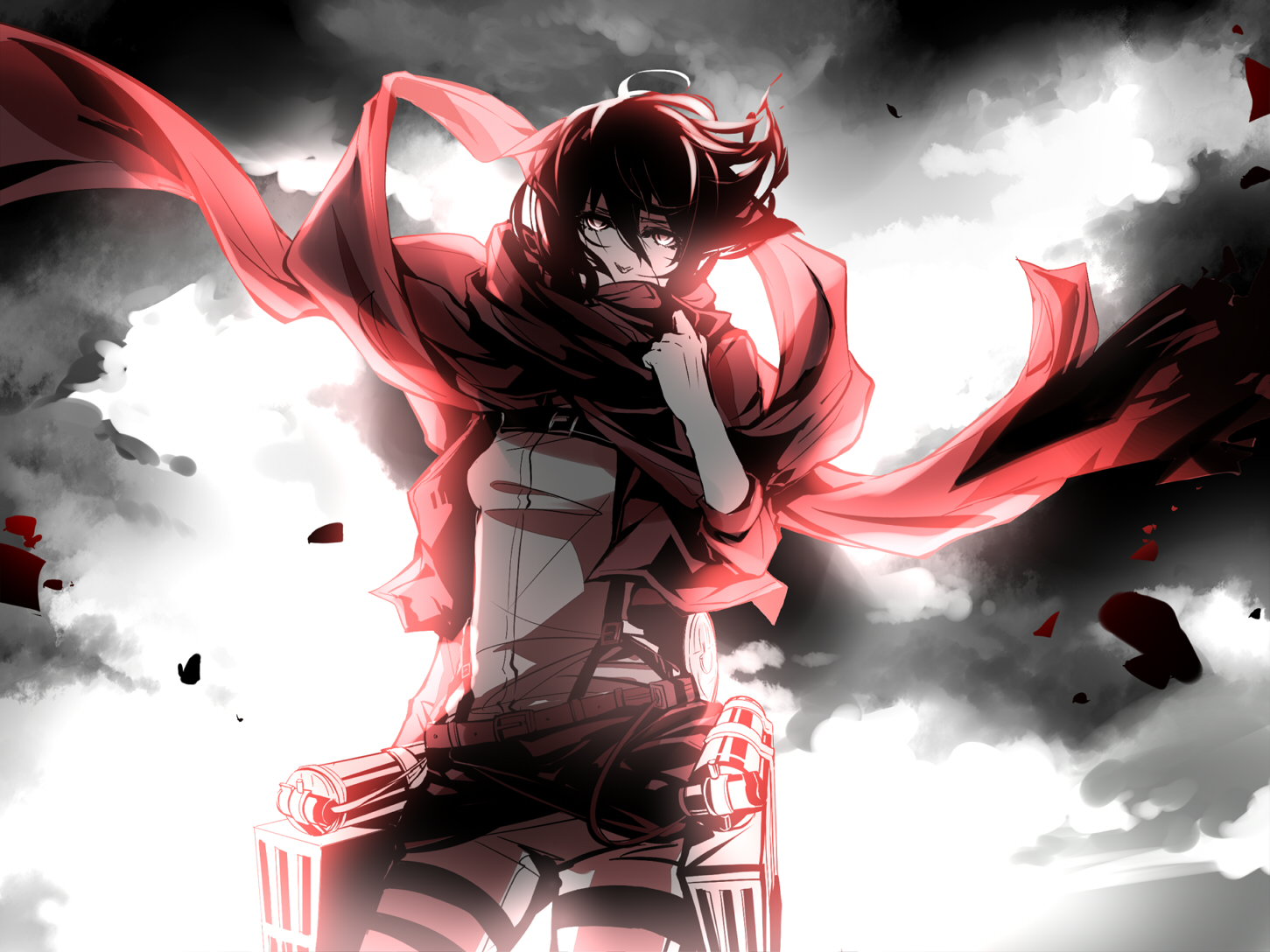 Attack On Titan Wallpaper and Background | 1451x1088 | ID ...