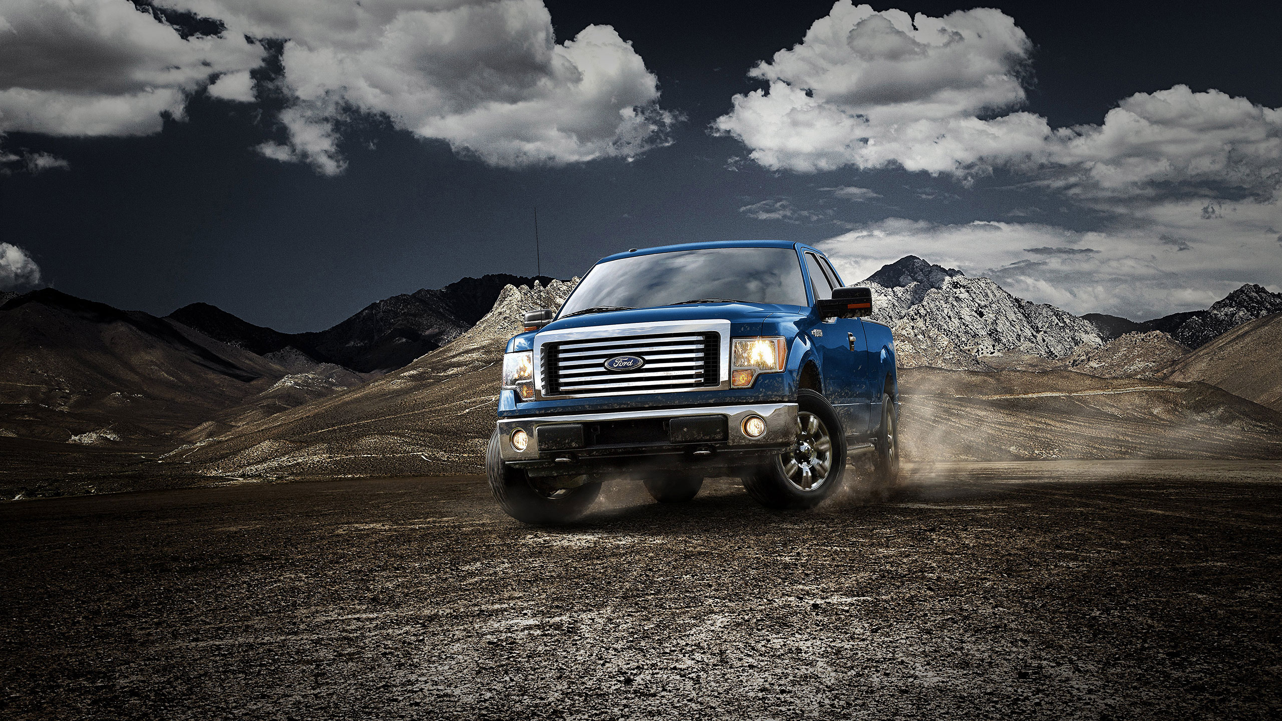 Ford F 150 Hd Wallpaper Background Image 2560x1440 Id 397175