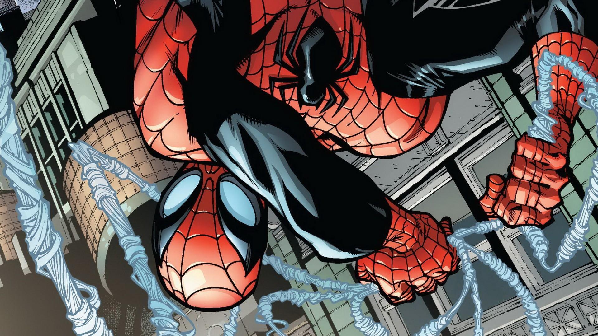 Spider man comic wallpaper - photo#20
