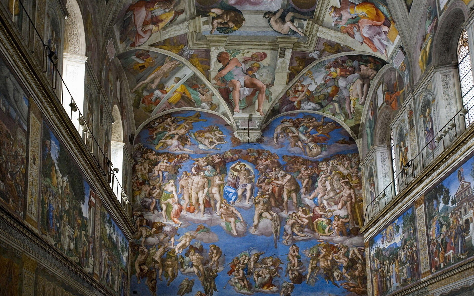 Sistine Chapel HD Wallpapers Background Images Wallpaper