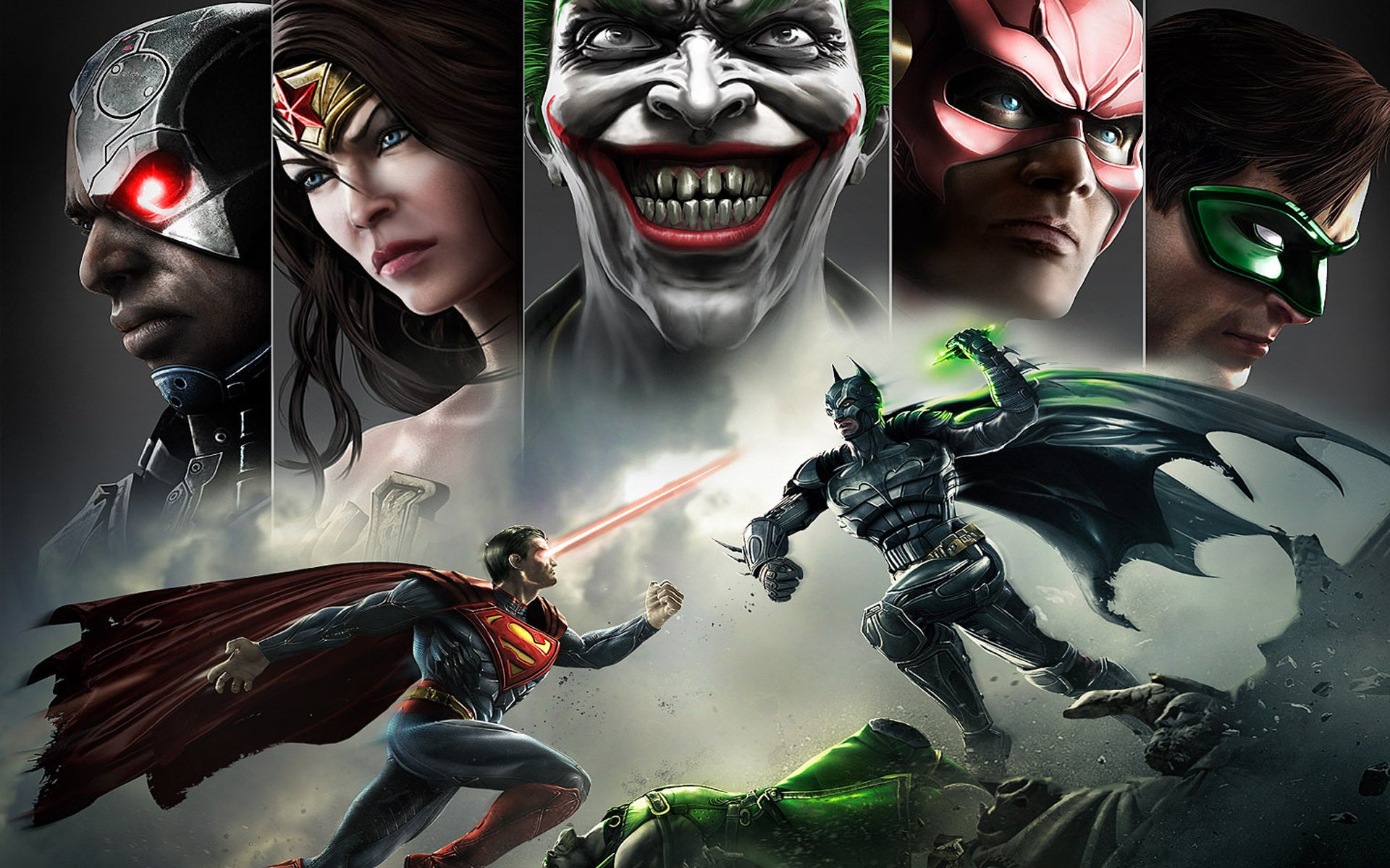 108 Injustice Gods Among Us Hd Wallpapers Background Images