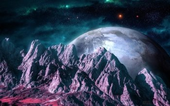 Science Fiction - Planet Rise Wallpapers and Backgrounds ID : 398692