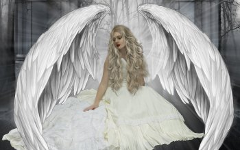 Fantasy - Angel Wallpapers and Backgrounds ID : 398999