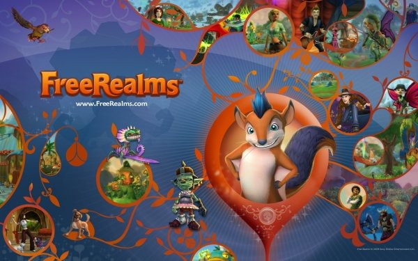 Video Game Free Realms Game HD Wallpaper | Background Image