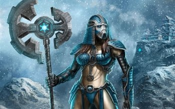Fantasy - Women Warrior Wallpapers and Backgrounds ID : 399476