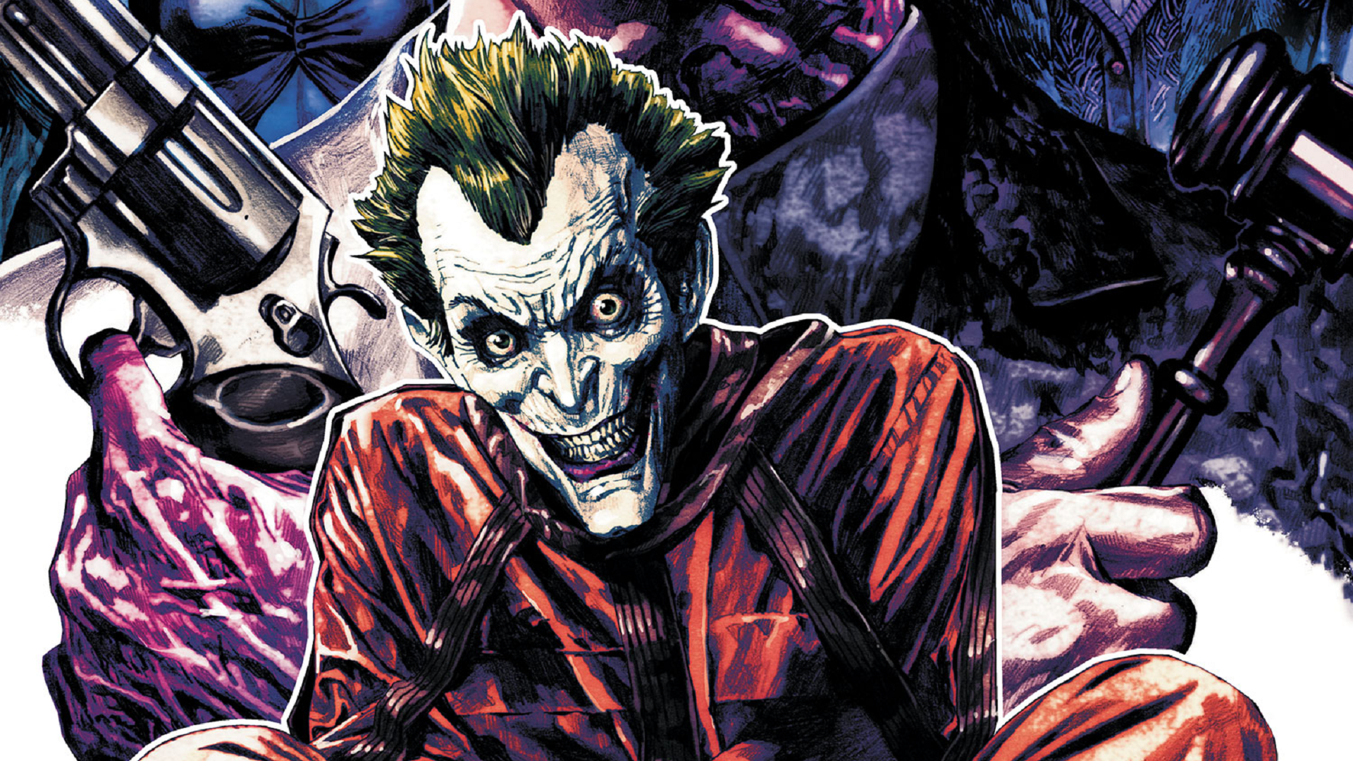 5 Batman: Arkham Unhinged HD Wallpapers | Backgrounds ... Batman Comic Cover Wallpaper