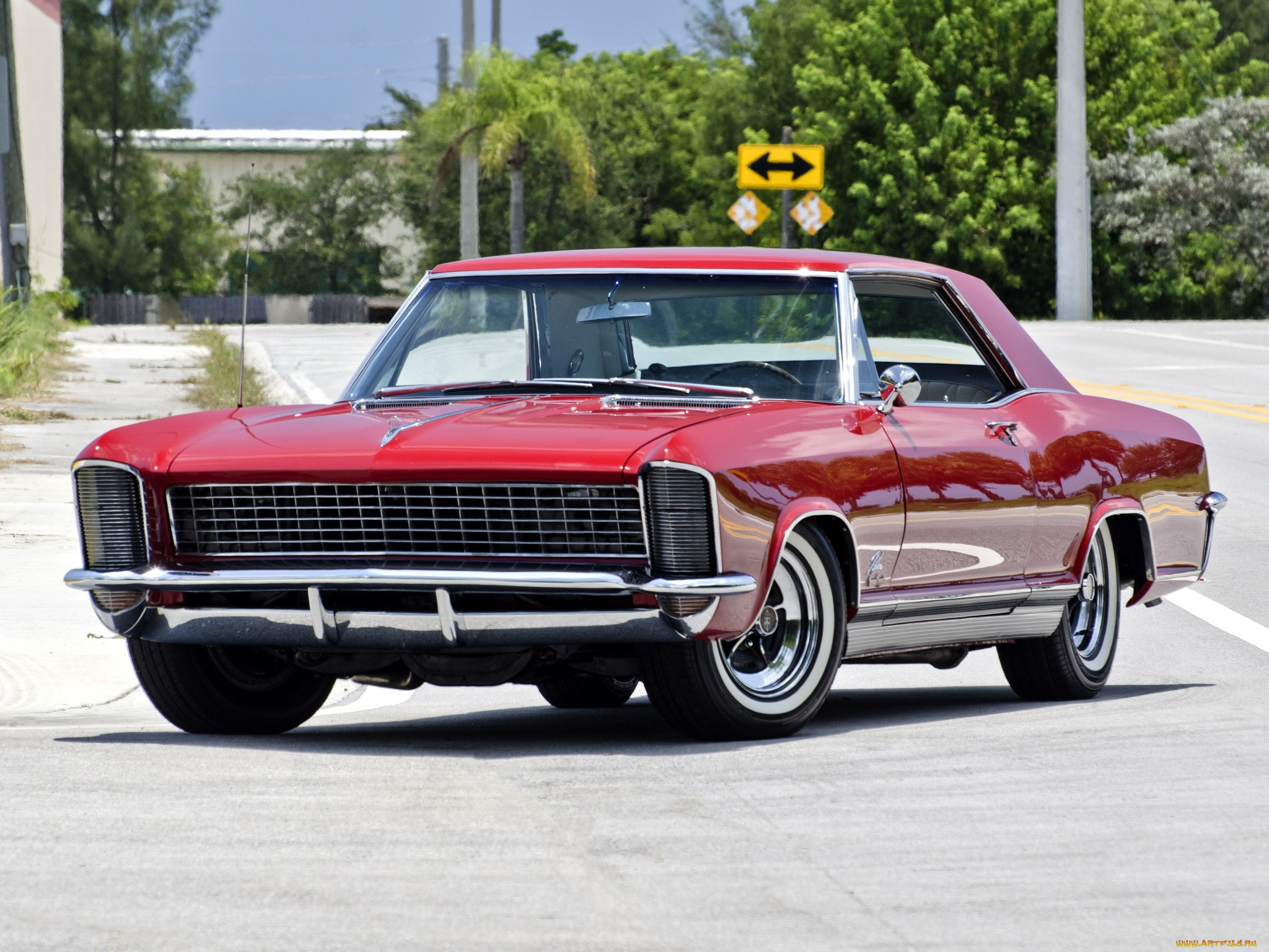1965 Buick Riviera Gs HD Wallpapers | Backgrounds - Wallpaper Abyss