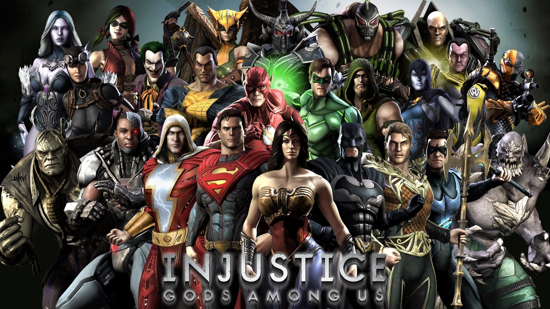 Injustice gods among us full hd wallpaper and background image video game injustice gods among us wallpaper voltagebd Image collections