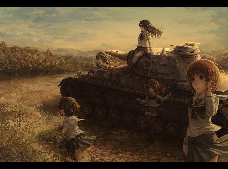 444 Girls Und Panzer Hd Wallpapers Background Images Wallpaper