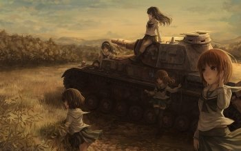 Anime - Girls Und Panzer Wallpapers and Backgrounds ID : 401846