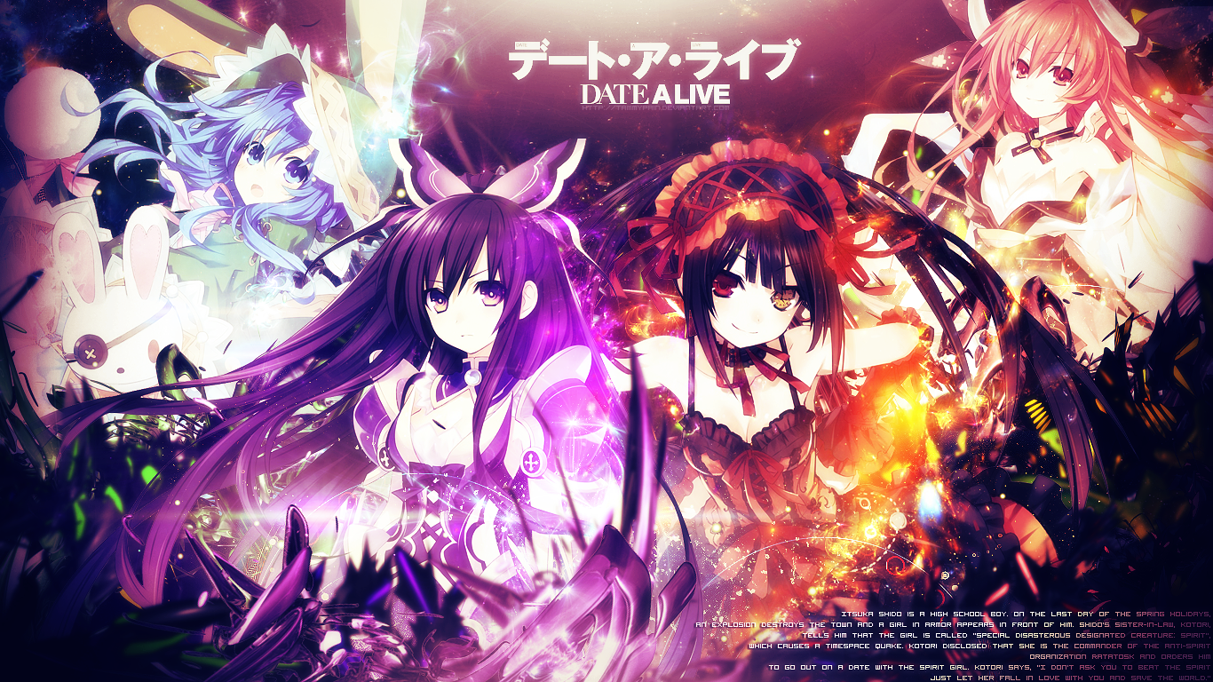 Date A Live Fonds Decran Hd Arriere Plans