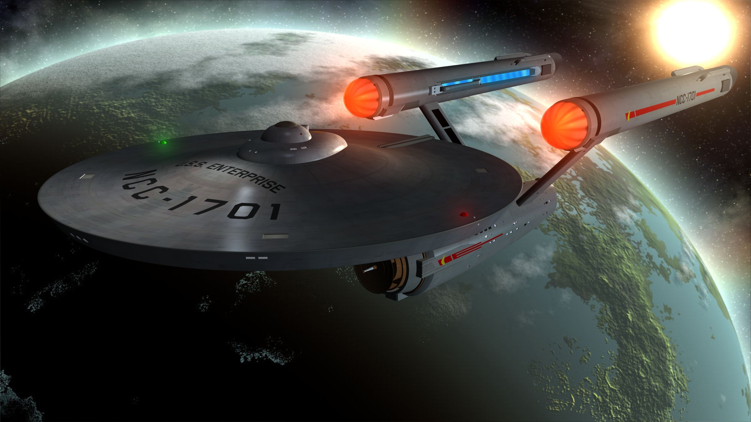 Assez U.S.S. Enterprise Full HD Wallpaper and Background | 2500x1406  CM11