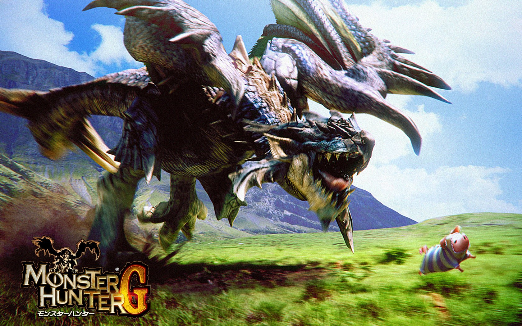 monster hunter fond d233cran and arri232replan 1680x1050
